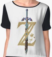 The Legend of Zelda: Breath of the Wild Z Chiffon Top