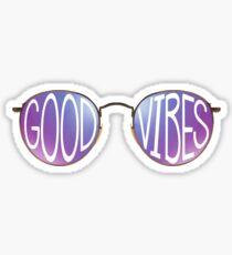 Gute Stimmung Sonnenbrillen Sticker