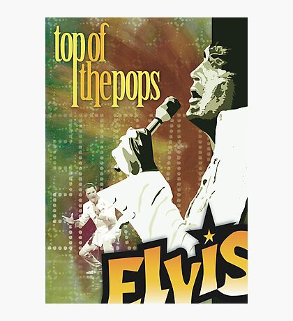 Top of the Pops: Elvis Presley Photographic Print