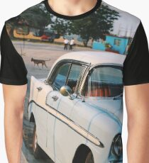 Retro Car - Bay of Pigs  Graphic T-Shirt