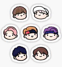 BTS Not Today Sticker