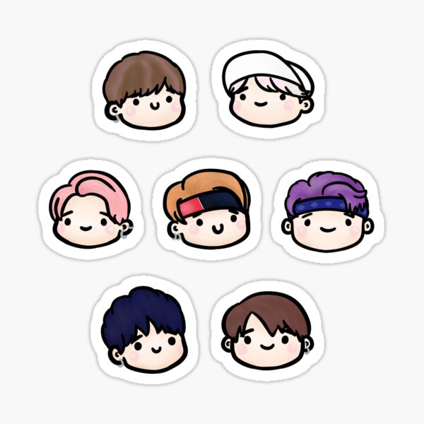 BTS Not Today Sticker