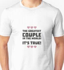 Worlds greatest couple R8r93 Unisex T-Shirt