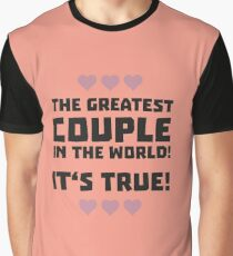 Worlds greatest couple R8r93 Graphic T-Shirt