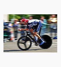 Bradley Wiggins - Sur Le Rivet Photographic Print