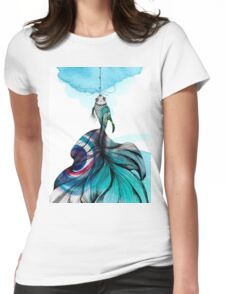 Fish fished Womens Fitted T-Shirt