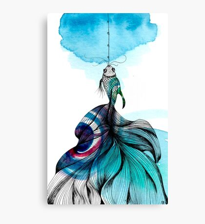 Fish fished Canvas Print