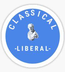 Classical Liberal Sticker
