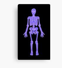 XRAY Skeleton iPhone / Samsung Galaxy Case Canvas Print