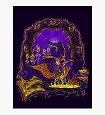 Wabbit Wizard Photographic Print