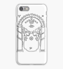 Speak friend and enter. iPhone Case/Skin