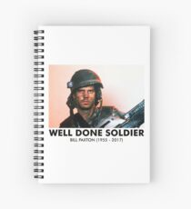 Well Done Soldier Spiral Notebook