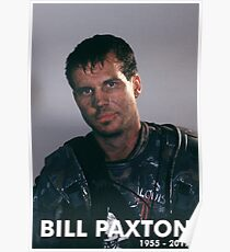 Bill Paxton as Private Hudson Poster