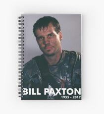 Bill Paxton as Private Hudson Spiral Notebook