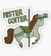Mr. Goiter Sticker