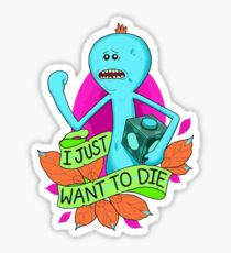 Rick and Morty / Mr. Meeseeks Sticker