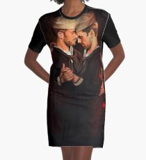 Les Marins Graphic T-Shirt Dress