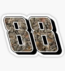 Dale Earnhardt Jr. #88 Camo Sticker