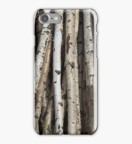 Silver Birch iPhone Case/Skin