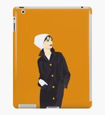 1960s Fashion Model iPad Case/Skin