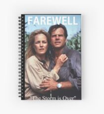 The Storm is Over Spiral Notebook
