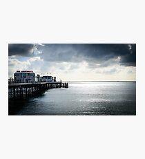 Worthing pier Photographic Print