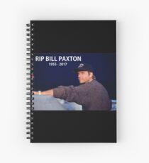 Bill Paxton 1955-2017 Spiral Notebook