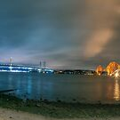 Night on the Forth by Cat Perkinton