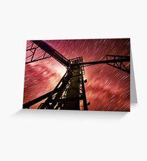 Star Trail Greeting Card