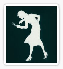 Nancy Drew Sticker