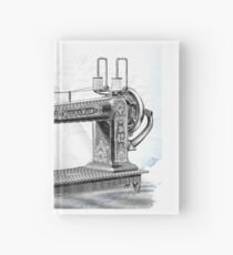 Sewing machine Hardcover Journal