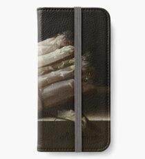 Adriaen Coorte - Still Life With Asparagus, 1697 iPhone Wallet