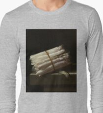 Adriaen Coorte - Still Life With Asparagus, 1697 Long Sleeve T-Shirt