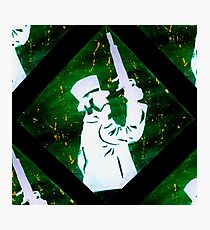 Haunted Mansion Duelist Silhouette 2 Photographic Print