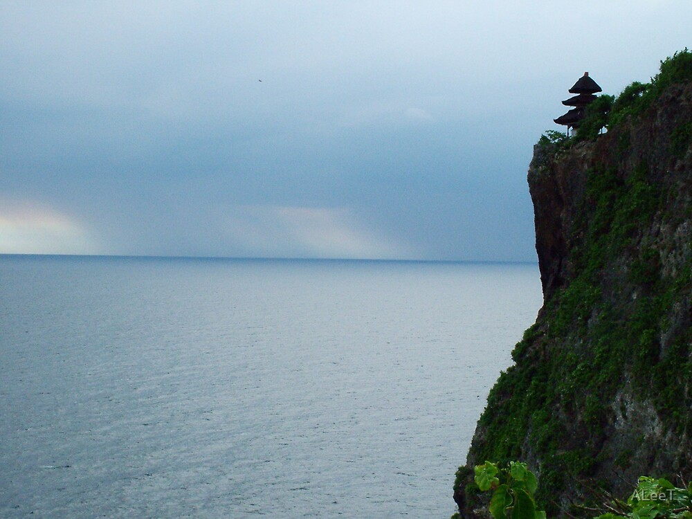 View from the temple at Uluwatu by ALeeT