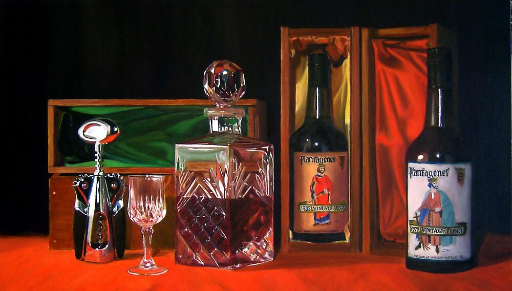 Portly Royalty by Martin Clarke