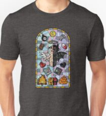 The Binding of Isaac, cathedral glass T-Shirt