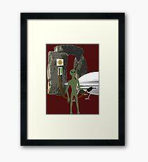 Ancient Aliens - Stonehenge Framed Print