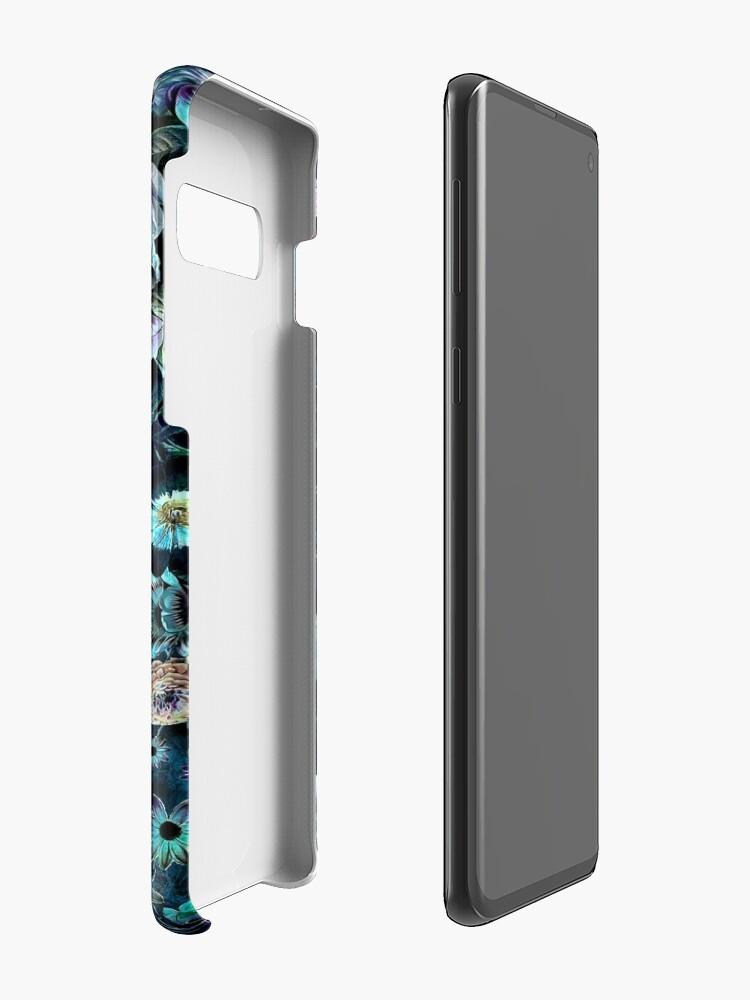 Alternate view of Night Garden Case & Skin for Samsung Galaxy