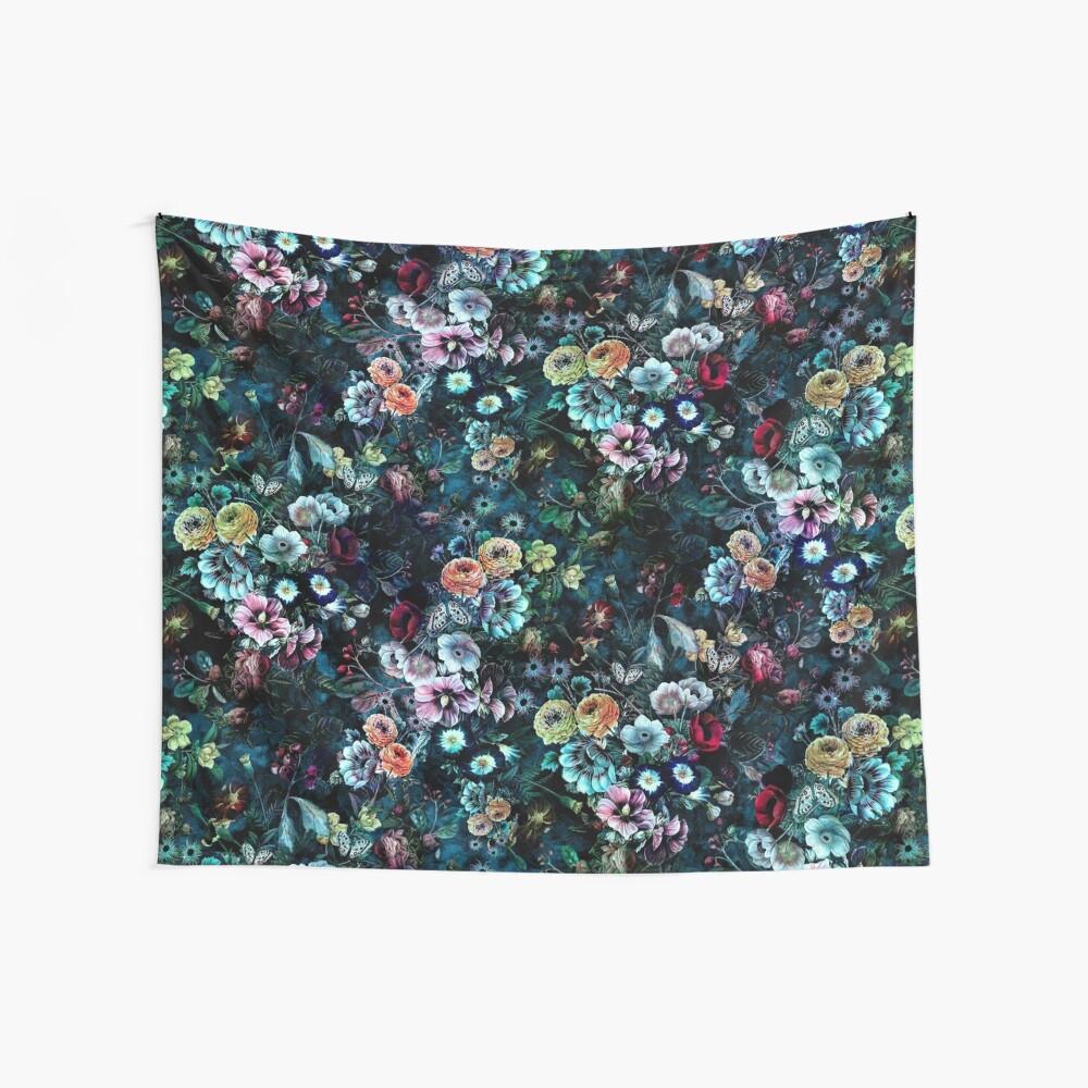 Night Garden Wall Tapestry