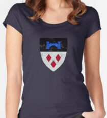 Geralt of Rivia Coat of Arms - Witcher Women's Fitted Scoop T-Shirt