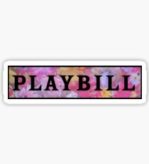 Playbill- Popular Sticker