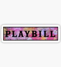 Playbill- Popular Sticker