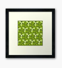 Greenery Green Framed Print