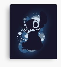 Stitch bubble Canvas Print