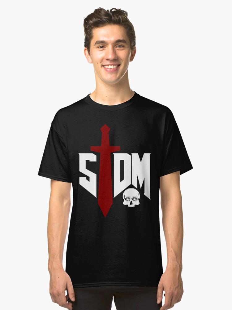 5TDM - White Classic T-Shirt Front