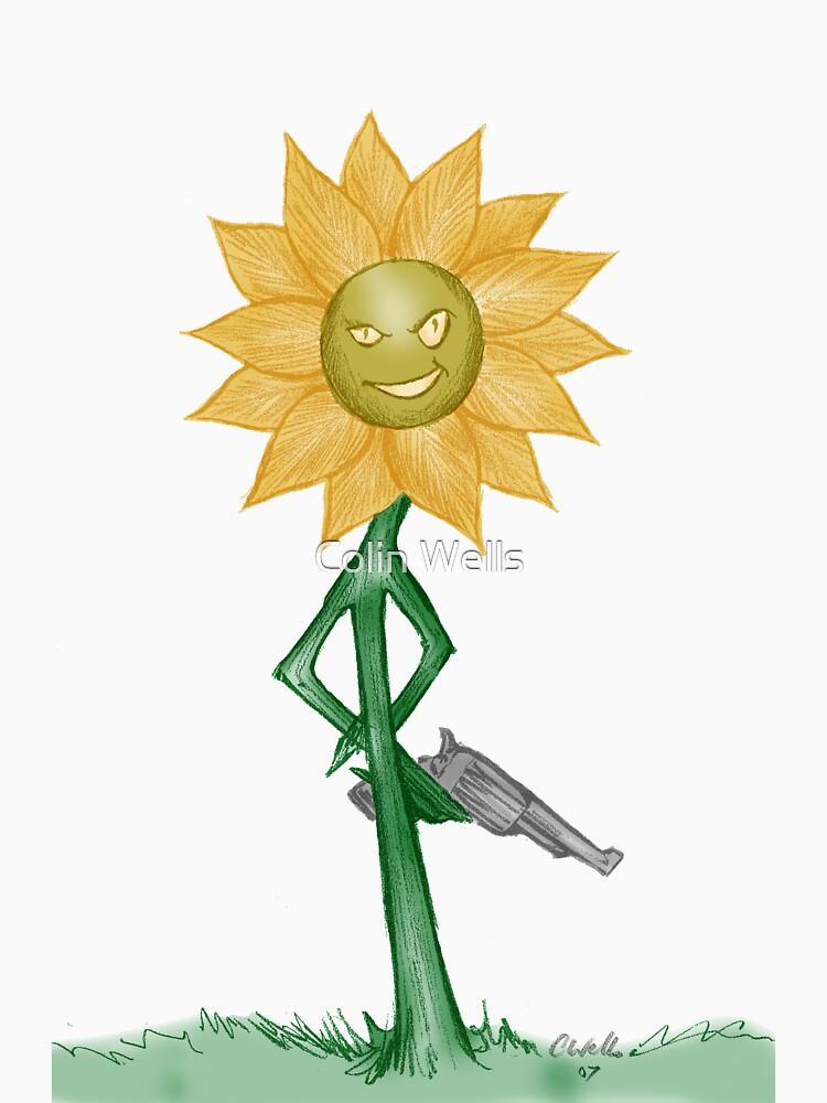 Deadly Sunflower by mrdenmac