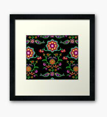 Sacred Geometry - The fruit of Love Framed Print