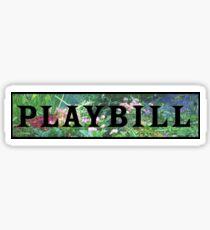 Playbill- garden Sticker