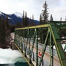 Bridge over Athabasca by zumi